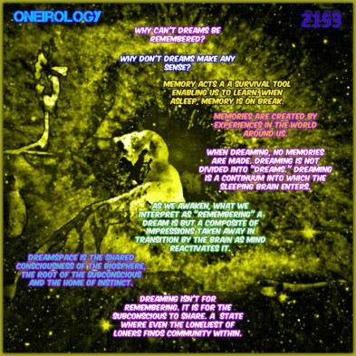2153 ONEIROLGY