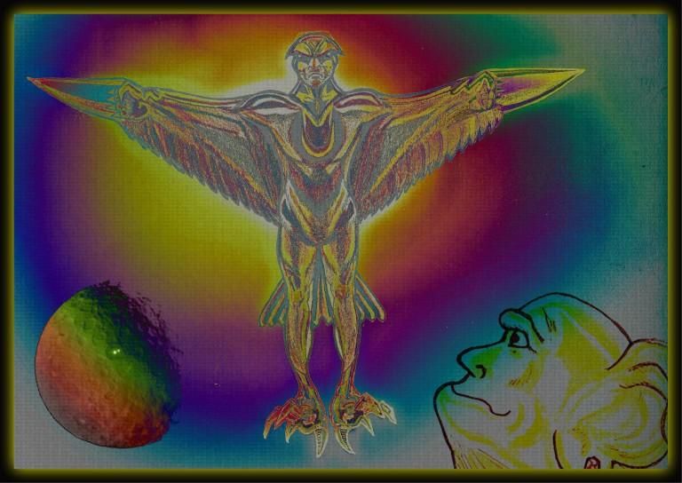Flamear Underground Eagle