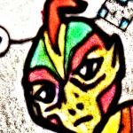 310 sup Rainbow Birdman