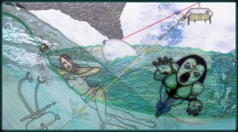 322 Drone Sea War