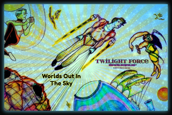 TWILIGHT FORCE Mission Week 22 Worlds Out In The Sky