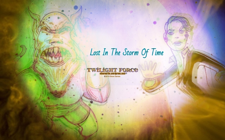 TWILIGHT FORCE Mission Week 24 LOST IN THE STORM OF TIMEtled